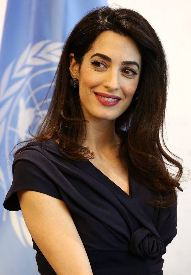 Amal Clooney - The London Conference